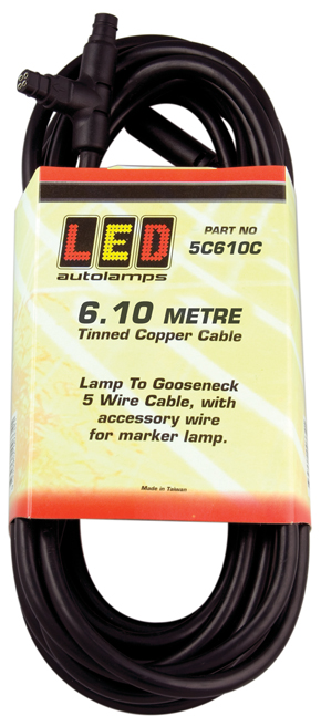 Lamp to Gooseneck Cables
