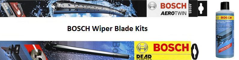 Windscreen Wiper Blade Kits