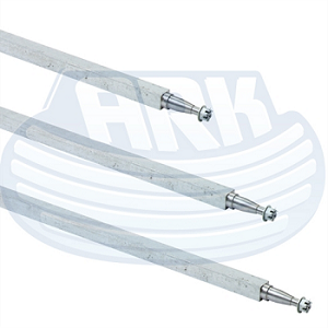 Galvanised Finish Axles