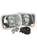 Narva 72090 H4 200 x 142mm 12V 100/55W High/Low Beam Halogen Headlamp Conversion Kit