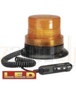 Narva 85369A L.E.D Quad Flash Strobe Light (Amber) with Magnetic Base, Cigarette Lighter Plug and 2.5m Spiral Lead