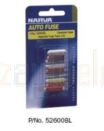 Narva 52600BL Ceramic Fuse Assortment (Blister Pack)