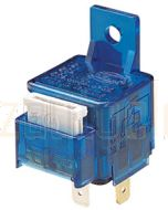 Hella 3077 Normally Open Relay with Inbuilt Fuse - 4 Pin, 24V DC