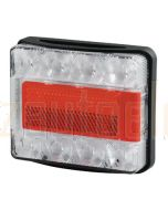 Hella Submersible LED Rear Combination Lamp with Licence Plate Function - 9.0m Cable (Pack of 10) (2395-9MBULK)