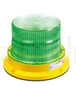 Hella UltraRAY Series - Green Illuminated, Magnetic Mount (HM400GMAG)