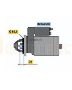 Bosch 0001115074 Starter 1115074