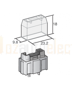 MTA 00359 Clear Cover to suit 00420 holder