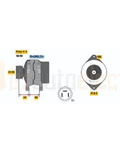 Bosch 0123115013 Suzuki Alternator