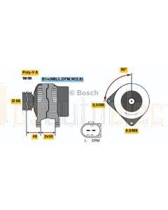 Bosch 0124325022 Alternator