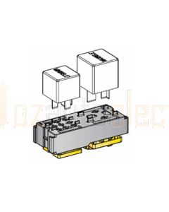 MTA 01490K 1 x Mini Relay (5 Pin) 1 x Maxi Relay (4 Pin) Modular Relay Box Kit