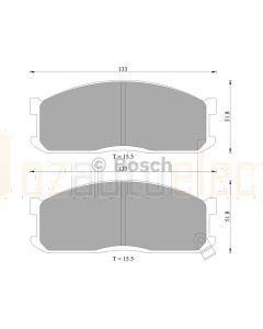 Bosch 0986AB2006 Brake Pad Set DB388BL - Set