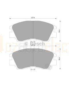 Bosch 0986AB2013 Brake Pad Set DB1113BL - Set