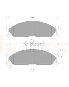Bosch 0986AB2467 Brake Pad Set DB438BL - Set