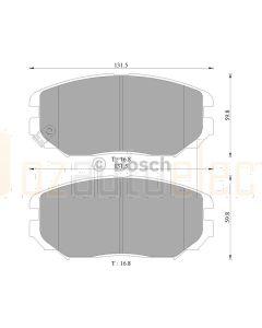 Bosch 0986AB3054 Brake Pad Set DB1924BL - Set