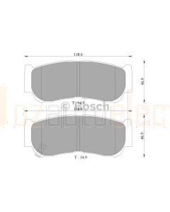 Bosch 0986AB3074 Brake Pad Set DB2035BL - Set