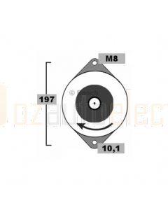 Bosch 0986AN0525 Alternator BXD1242A