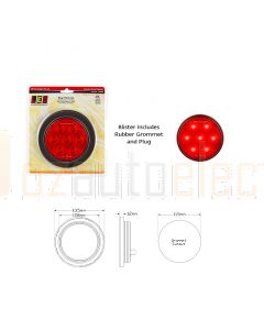 LED Autolamps 113RMG LED Stop Tail Lamp with Rubber Grommet