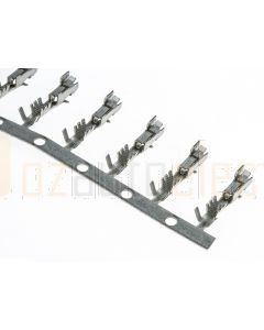 Delphi P-12124075/100 Metri-Pack 12124075 150.2 Female Unsealed Tin Plating Tang Terminal, Cable Range 0.75 - 1.00 mm2 (Bag of 100)