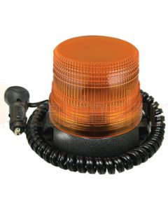 LED Autolamps Amber Strobe Beacon with retractable cord