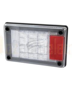 Hella Jumbo LED Reversing Lamp White 12/24V