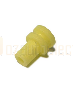 Delphi 15305351 Yellow Individual Loose Round 1 Way Cable Cavity Seal
