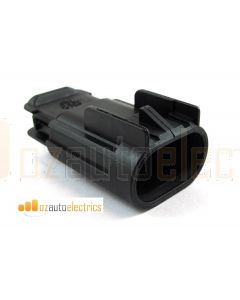 Delphi 15326678 2 Way Black GT 280 Sealed Male Connector