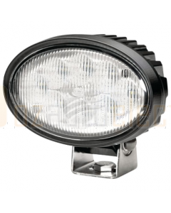 Hella Oval 100 LED Worklamp 9-33V Long Range Beam 2m Lead