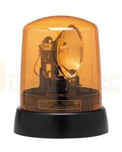 Hella 9.1728.01 Amber PC Lens to suit Hella KL7000 Amber Rotating Beacon