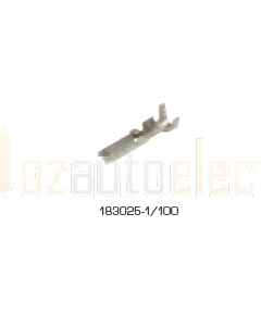 TE Connectivity 183025-1/100 SUPERSEAL 1.5 Series, Socket, Crimp, 16 AWG, Tin Plated Contacts (Pack of 100)