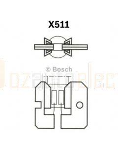 Bosch 1987302422 Bulb H2 24V 70W Trucklight X511 - Single