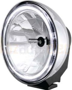 Xray Vision 200 Series Chrome, Pencil Beam, Clear Lens HID 50W
