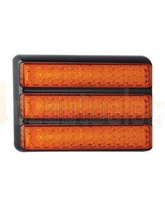 LED Autolamps Triple Rectangular Lamp- Indicator