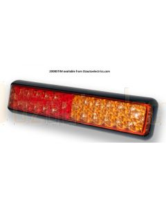 LED Autolamps 200BSTIM Stop/Tail & Indicator Combination Lamp (Blister Single)