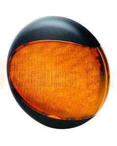 Hella EuroLED Rear Direction Indicator - Amber, 24V DC (2133-24V)
