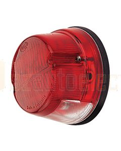 Hella 9.2885.01 Red Lens to suit Hella 2351 Stop Rear Position and Licence Plate Lamp