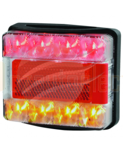 Hella Submersible LED Combination Stop / Tail / Indicator and Licence Plate Lamp 12 Volt