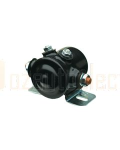 SPST Cont 24V 4 term 85A Coated Solenoid