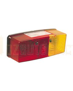 Hella 9.2419.01 Red / Amber Lens to suit Hella 2419 Combination Lamp LHS