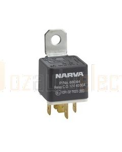 Narva 68040BL 24V 30Amp 5 Pin normal Open Relay Diode Protected