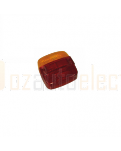 Hella Red / Amber Lens to suit Hella 2396 (9.2396.01)
