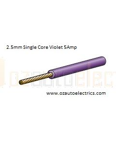 Narva 5812-30VT Violet Single Core Cable 2.5mm (30m Roll)