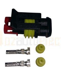 AMP Superseal 2 Circuit Plug Kit