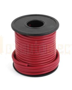 2mm Red Single Core Cable 100m Roll