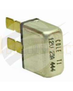 Cole Hersee Circuit Breaker 25A 12V Plug in Type 1 Thermal Reset