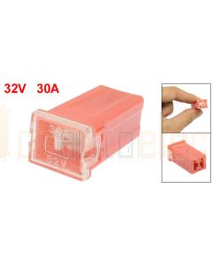 30A Slow Acting 32V, Low Profile Micro JCase Fusible Link