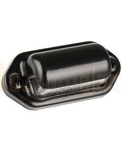 LED Autolamps 30BLM 30 Series Licence Plate Lamp - Black (Blister of 2)