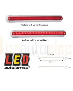 LED Autolamps 380CR12 Single Surface Mount Stop Tail Lamp (Blister)