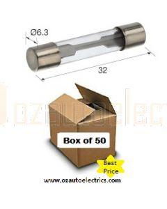 Narva 52325 Glass Fuse 3AG - 25Amp (Box of 50)