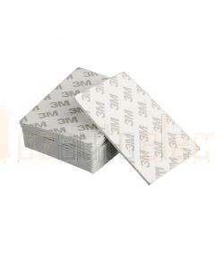 3M Double Sided Sticky Pads 80mm x 60mm