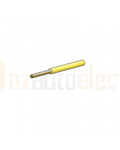 3mm Single Core Yellow Cable 30m Roll